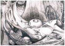 FOMORII LANDSCAPE von Otto Rapp