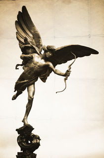 Eros Statue, London by Neil Overy