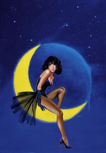 Mezza Luna von Alfons Kiefer