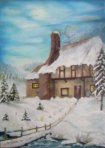 Winter auf dem Land by G.Elisabeth Willner