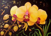 Gelbe Orchidee von G.Elisabeth Willner