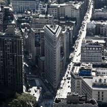 Flatiron Building from afar by Fabian Medina