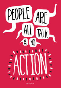 People are all talk and no action von Paul Robson
