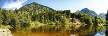 Moor Lake, a small lake in the Alps close to Oberstdorf by fotoping