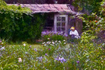 In the Iris Garden von Susan Isakson