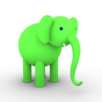 Green Elephant von dresdner