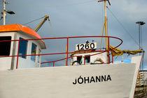"""Icelandic boat """"Jóhanna"""" by Yvonne Schüttler"""