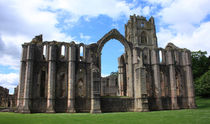 Fountains Abbey von Emma Wright