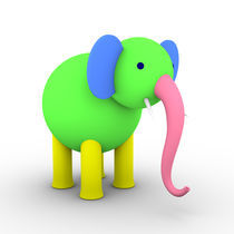 Colorful Elephant II von dresdner