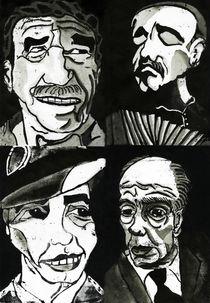 Latin America Portraits von gabriela-molina