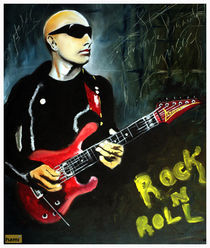 Joe Satriani by tamagna ghosh