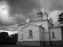 Black and White Monastery by Martin Siilak