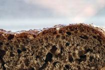 Brot - Poster - Nahaufnahme - Makro von Jens Berger