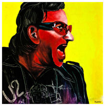 The red Bono by tamagna ghosh