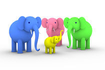 Elephant Family von dresdner