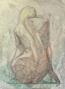 Femme fatale II. - Linear woman von Janos Szaszki