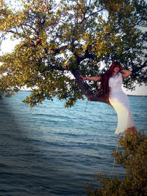 mermaid on black mangrove von nica-breeze