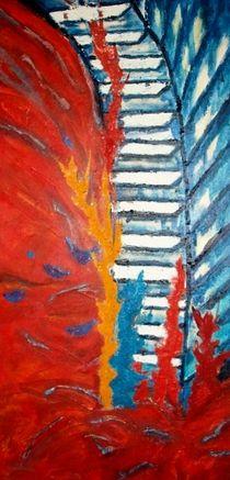 Die Treppe des Lebens - der steile Weg nach oben by Heinrich Reisige
