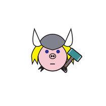 Pig Thor von Eduardo Velarde Heidemann