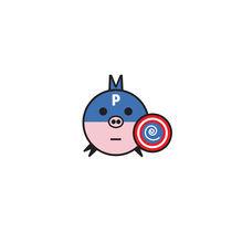 Captain Pig von Eduardo Velarde Heidemann