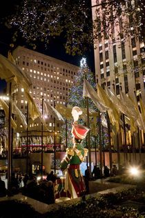Christmas in Rockefeller Center_3 von Megan Daniels