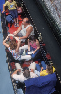 World souvenir: Venice, gondola von Manel Clemente