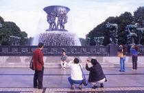 World souvenir: Oslo, Vigelandsparken von Manel Clemente
