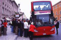 World souvenir: Rome, tourist bus von Manel Clemente