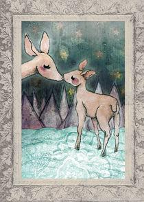 Christmas deers by Elisa Moriconi