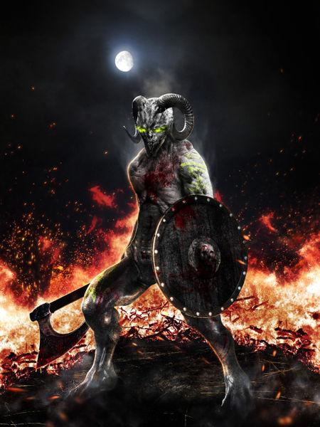[Aventura]: Os Escolhidos - Página 38 Demon-warrior-9000x12000