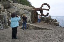World souvenir: Donostia, El Peine del Viento by Chillida by Manel Clemente