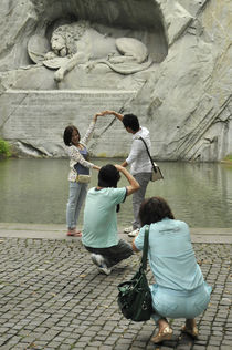 World souvenir: Luzern, Löwendenkmal von Manel Clemente