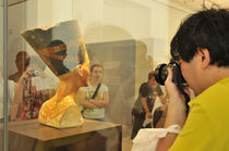World souvenir: Berlin, Altes Museum, Nefertiti von Manel Clemente