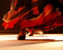 dance flamenco von Sylwia Olszewska