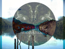 Horizontes verdes azulados von Vicky Santamarina