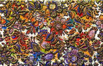 Digital Royal Floral Pattern Art von Blake Robson