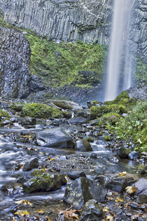 Latrourell Falls slip sliding away by Jon Mack