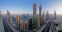 Sheikh Zayed Road by Sebastian Opitz