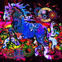Abstract Dream Design Horse by Blake Robson