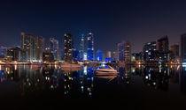 Yachts 'n Skyscrapers von Sebastian Opitz