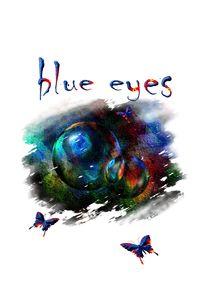 blue eyes by Eckhard Röder