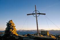 Abends am Gipfel von Thomas Mertens