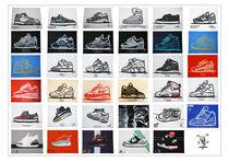 Kwills Sneaker Paintings Poster von Quincy Renon