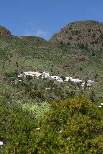 La Gomera - Dorf - Kanaren von Jens Berger
