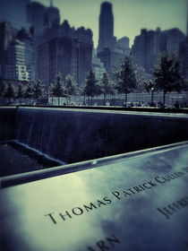 911 Memorial, Manhattan, New York City by Stacey Duncan