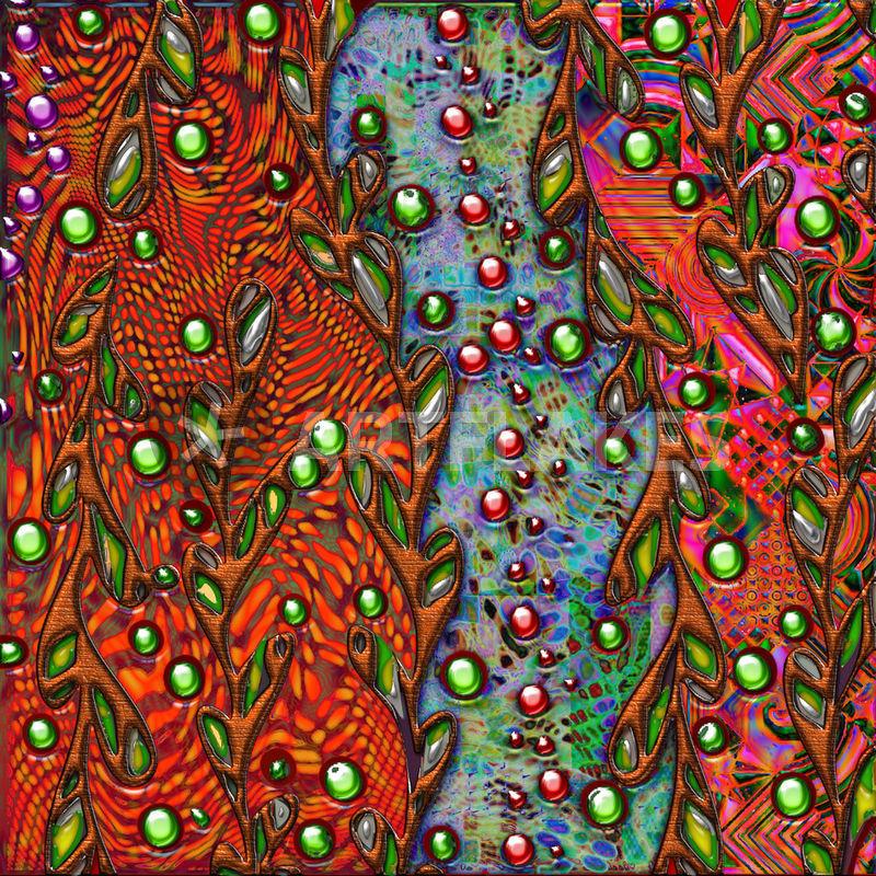 """bohemian art abstract pattern"" Digital Art art prints and ..."