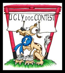Ugly Dog Contest by Raechel Raines