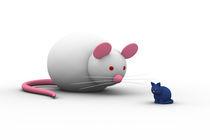 Maus und Katze by dresdner