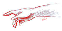 Arm sketch by Rita Oliveira