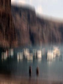 Gomera - Vueltas - Hafen - abstrakt von Jens Berger